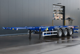 Grunwald container semitrailer for Holland
