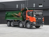 Scania P440 with Grunwald tipper superstructure