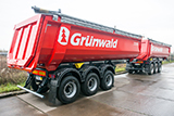 Grunwald semitrailers build high-speed highway M-11