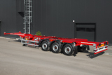 New extendable container semitrailer