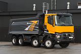 Renault K 8x4 with Grunwald tipper superstructure