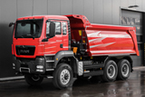 MAN TGS 40.440 6x6 with Grunwald tipper superstructure