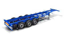 40 Ft container semitrailer