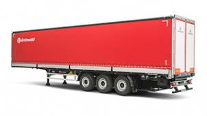 Curtain sided semitrailer Gr-CSSt MARATHONER