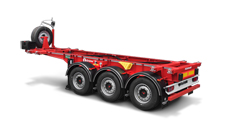 20ft container semitrailer